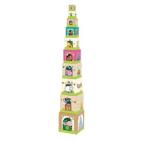 HABA Stacking Cubes On the Farm (5879)