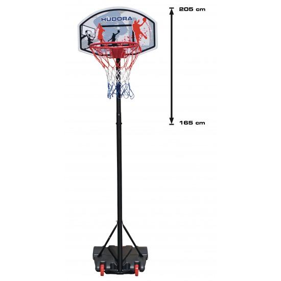 HUDORA basketball system, Basketball Rack(white/blue, 450 mm, 700 mm, 9 g)(71655)