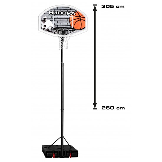 HUDORA PRO XXL Basketball Systems, Basketball Rack(18.8 kg)(71661)