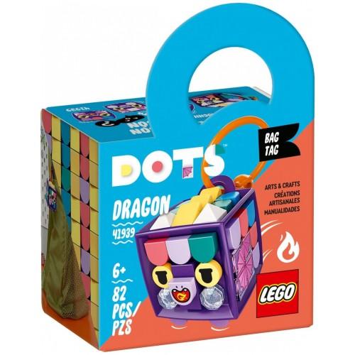 Lego Dots Bag Tag Dragon (41939)