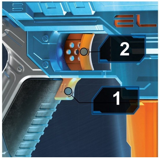 Hasbro Nerf Elite 2.0 Turbine CS 18 (E9481EU4)