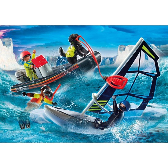 Playmobil City Action Water Rescue with Dog (70141)