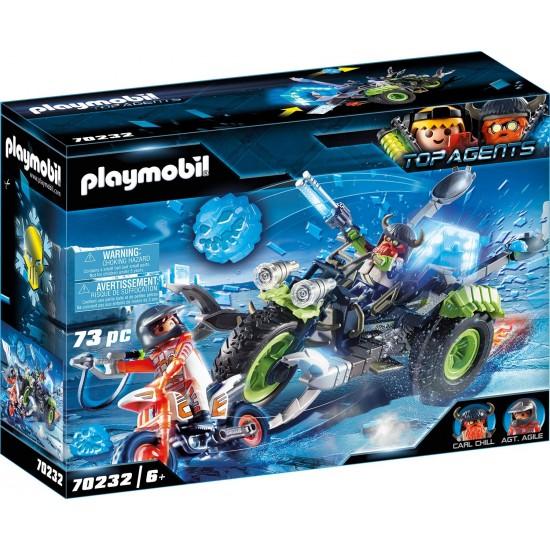 Playmobil Top Agents: Arctic Rebels Eistrike (70232)