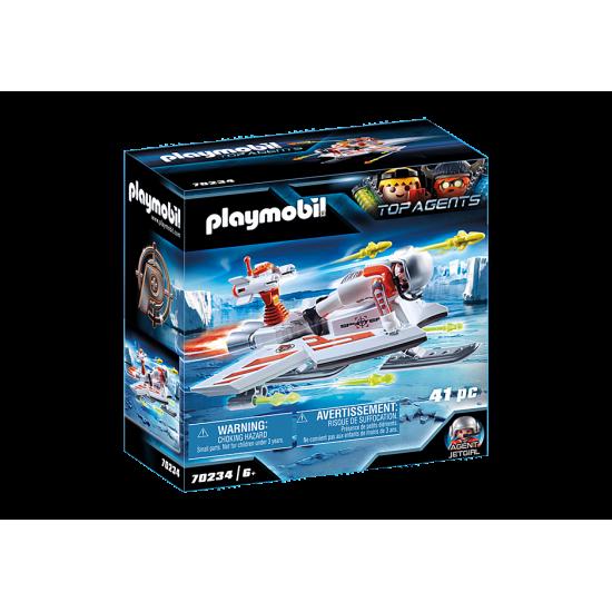 PLAYMOBIL Top Agent Spy TeamGlider (70234)