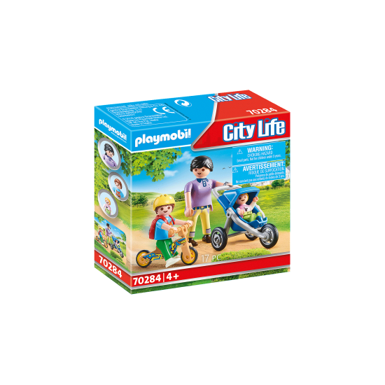 Playmobil Mother with Children(70284)