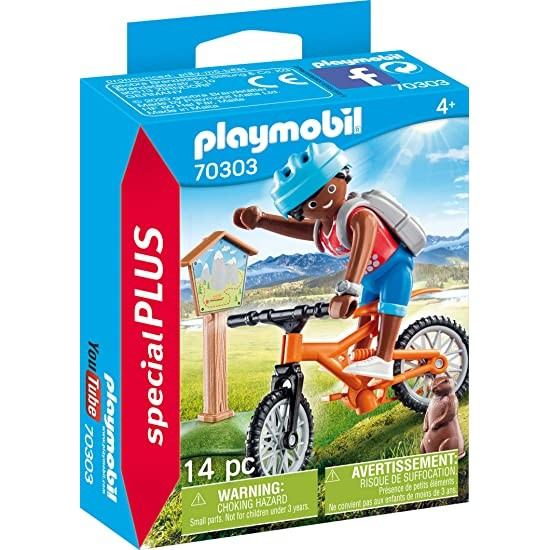 Playmobil Mountain Biker 70303