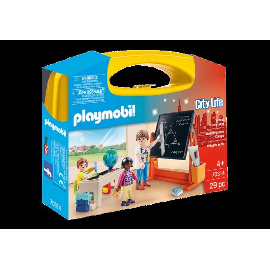 Playmobil City Life Maxi Βαλιτσάκι Σχολική τάξη (70314)