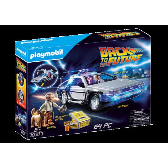 Playmobil Back to the Future Συλλεκτικό όχημα Ντελόριαν(70317)