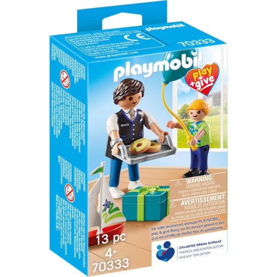 PLAYMOBIL Play & Give Νονος (70333)