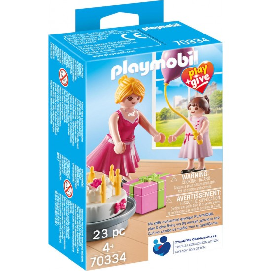PLAYMOBIL Play & Give Νονα (70334)