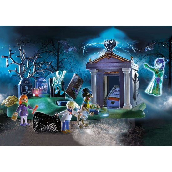 Playmobil SCOOBY-DOO! Adventure in the Cemetery (70362)