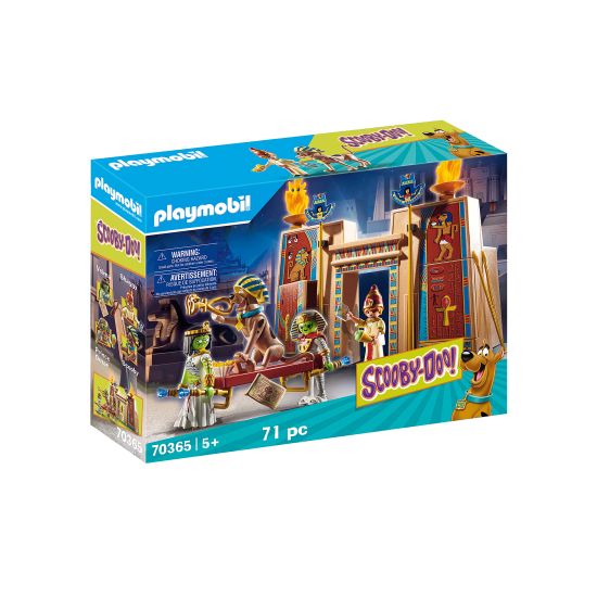 Playmobil SCOOBY-DOO! Adventure in Egypt (70365)