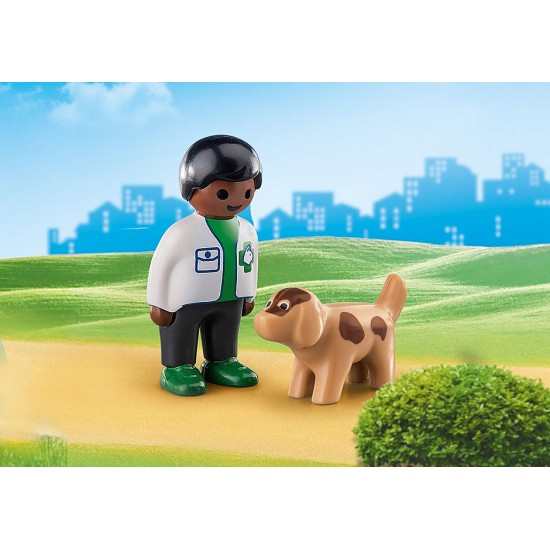 Playmobil Vet with Dog (70407)