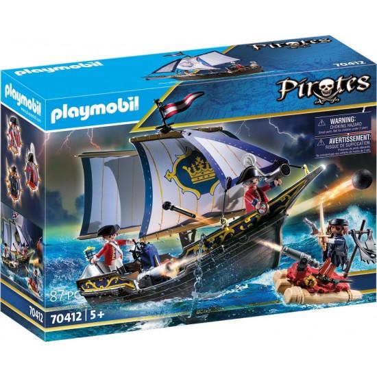 Playmobil Πλοιάριο λιμενοφυλάκων(70412)