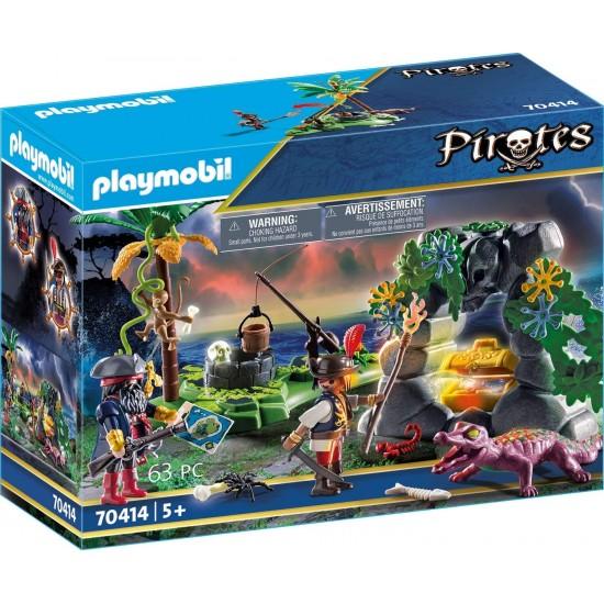 Playmobil Κρυσφήγετο Πειρατών(70414)