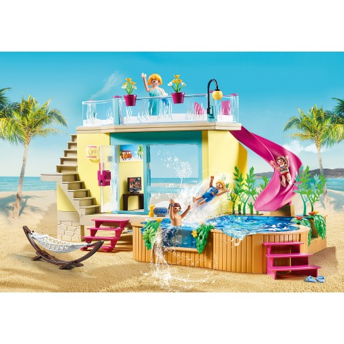 Playmobil Bungalow with Pool (70435)
