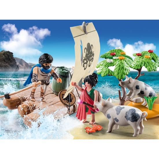 Playmobil Ο Οδυσσέας και η Κίρκη (70468)