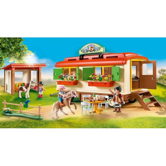Playmobil Country  Ponycamp Overnight Trolley (70510)