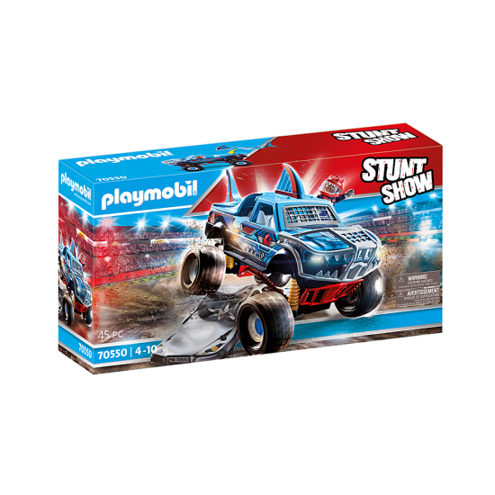 PLAYMOBIL Stunt showMonster Truck Shark  (70550)