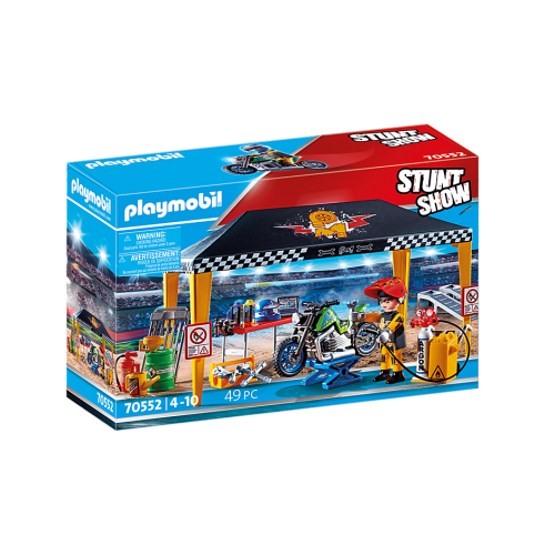 PLAYMOBIL Stunt show workshop tent (70552)