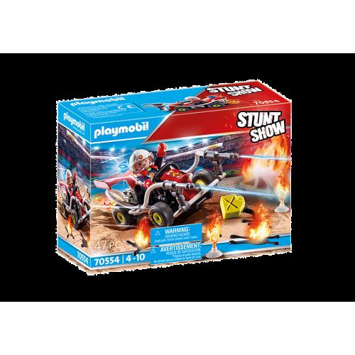 PLAYMOBIL Stunt show fire engine kart (70554)