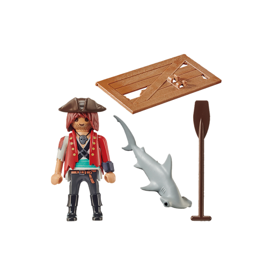 Playmobil Special Plus Pirate with Raft (70598)