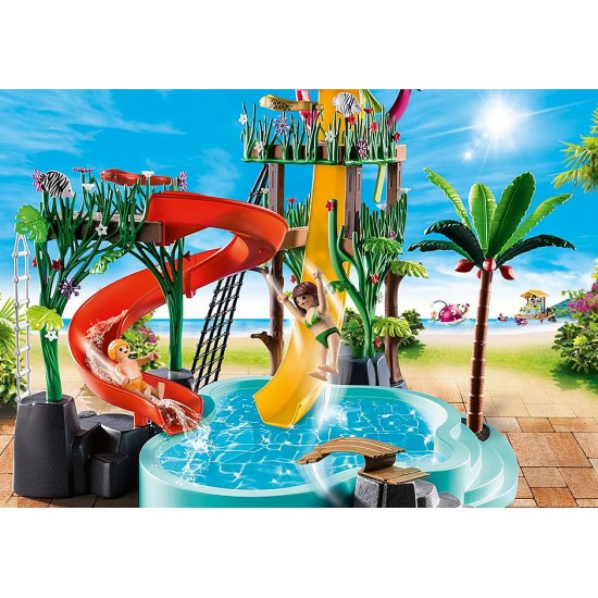 Playmobil Family Fun Water Park with Slides (70609)