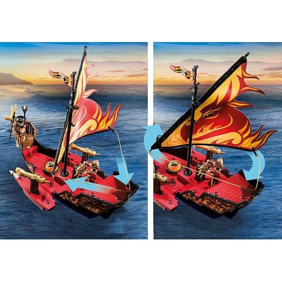Playmobil Novelmore Πλοίο της φωτιάς του Burnham (70641)