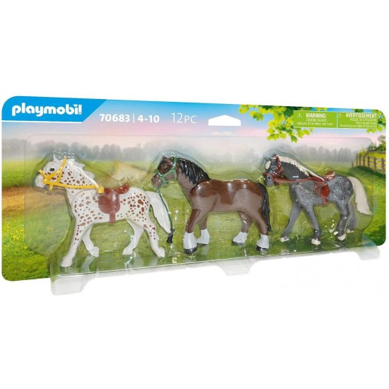 Playmobil Country Horses, 3st. (70683)