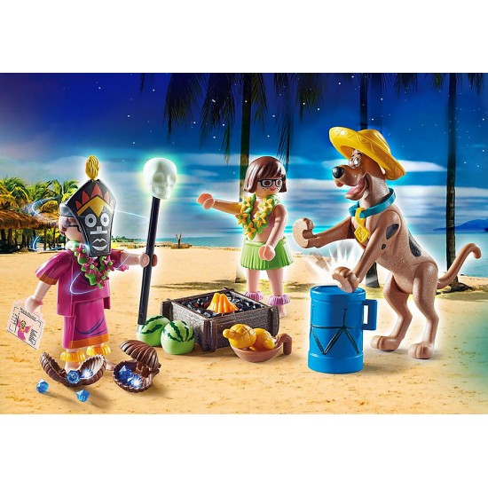 Playmobil SCOOBY-DOO! Περιπέτεια με τον Witch Doctor (70707)