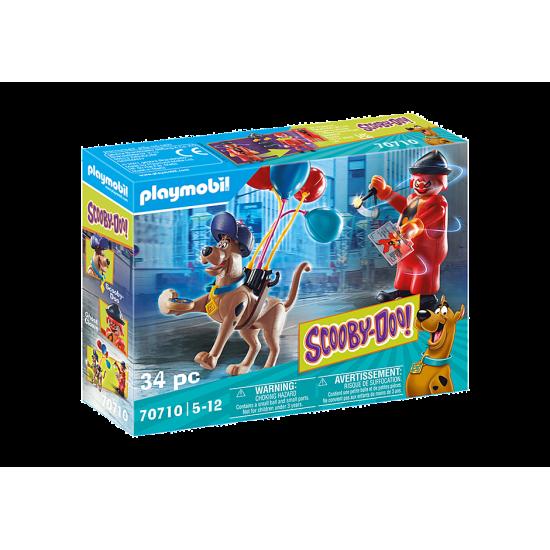 Playmobil SCOOBY-DOO! Περιπέτεια με τον Ghost Clown (70710)