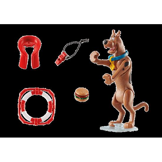 """Playmobil SCOOBY-DOO! Συλλεκτική φιγούρα Scooby """"Ναυαγοσώστης""""(70713)"""