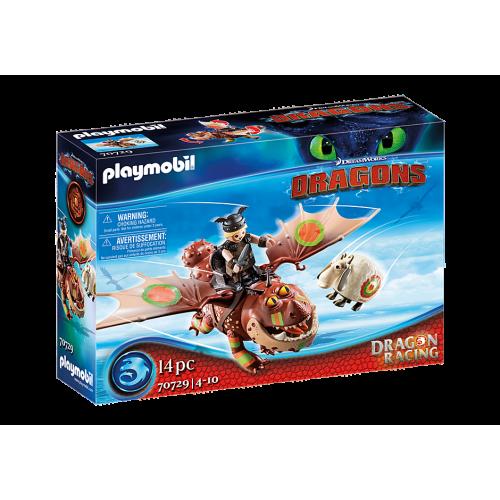 Playmobil Dragons Λέπιας και Χοντροκέφαλος (70729)