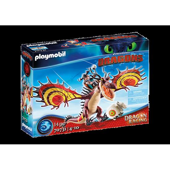 Playmobil Dragons Μύξαρχος και Τσιγκελοδόντης (70731)
