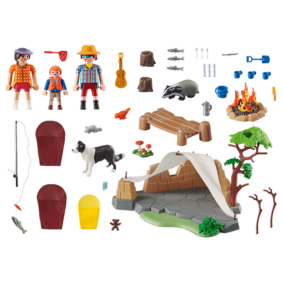 Playmobil Family Fun Family Camping Trip (70743)