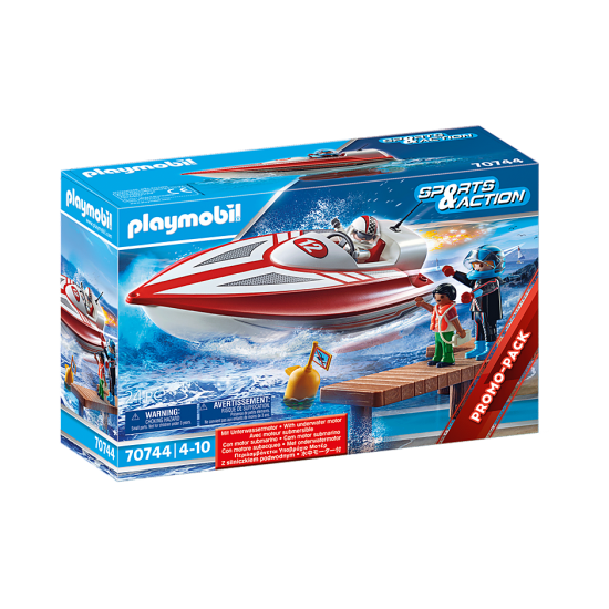 Playmobil Sports & Action Speedboat Racer (70744)