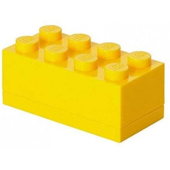 Room Copenhagen toy chest LEGO Mini Box 8, yellow (RC40121732)
