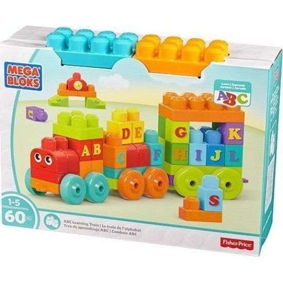 Fisher-Price Mega Blocks Τρενάκι ABC (DXH35)