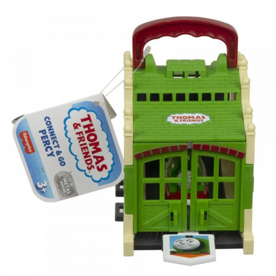 Fisher-Price Thomas The Train Φορητός Σταθμός Τρένων Τιντμουθ - Connect And Go Percy (GWX08/GWX65)