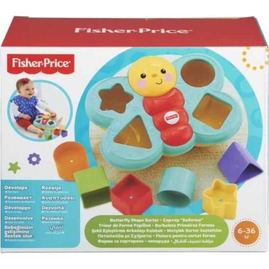 Fisher Price Πεταλούδα Με Σχήματα (CDC22)
