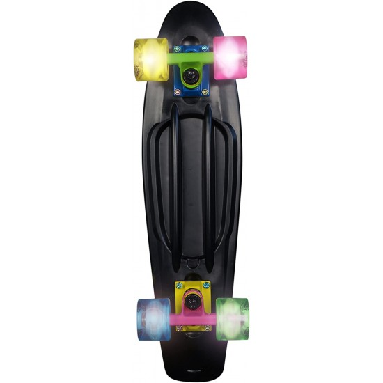 No Rules authentic sports & toys Gmbh Skateboard Fun Neon (293)