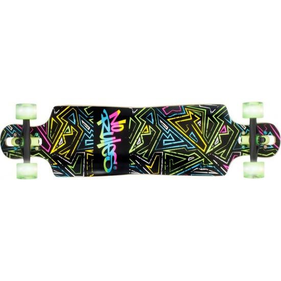 No Rules Longboard Abec 7 Neon (361)