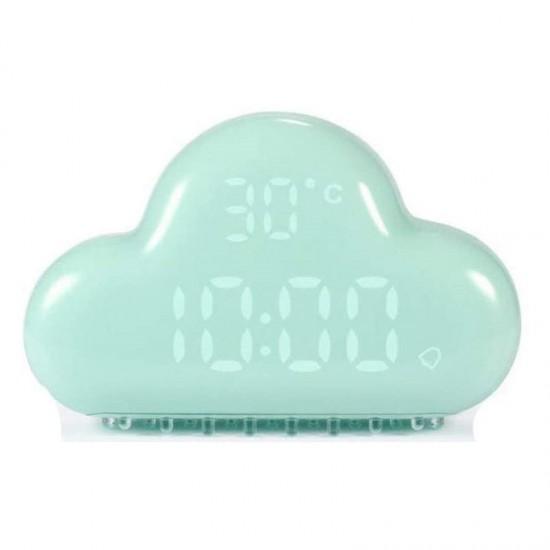 Allocacoc® AlarmClock Cloud |MUID| Ρολόι/ξυπνητήρι/θερμόμετρο συννεφάκι (Πράσινο) (DH0171GN/ACLOUD)