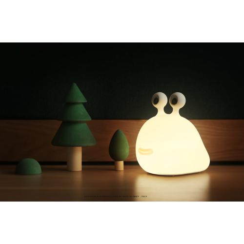 Allocacoc® Slug Night Lamp |MUID| Φωτάκι παιχνίδι γυμνοσάλιαγκας από μαλακή σιλικόνη με χρονοδιακόπτη (DH0299/SLUGLP)