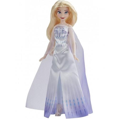 Hasbro Disney Frozen 2 Fashion Doll Opp Queen Elsa Βασίλισσα Έλσα (F1411)