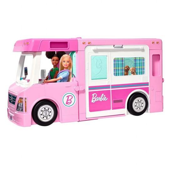 Barbie Τροχόσπιτο 3 Σε 1 (GHL93)