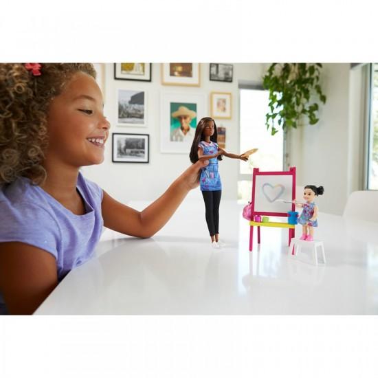 Barbie Σετ Επαγγέλματα Ζωγράφος (GJM30)