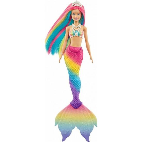 Παιχνιδολαμπάδα Mattel Barbie Dreamtopia Γοργόνα Ουράνιο Τόξο (GTF89)