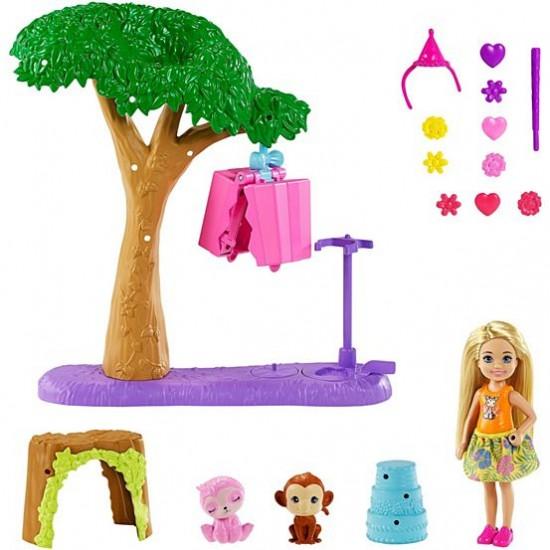 Mattel Barbie Τσέλσι Πινιάτα Έκπληξη Σετ (GTM84)