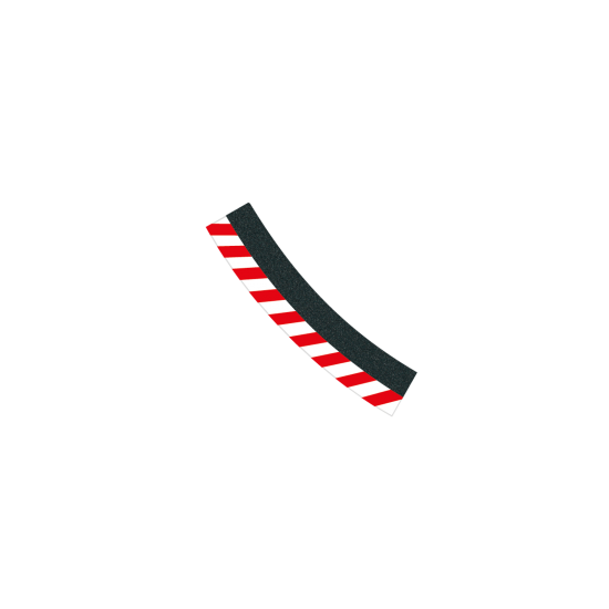 Carrera EVO Außenrandstreifen 3/30° (6) (20020563)